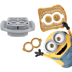 FunBites  2-Piece Minions Goggles Food Cutter Set