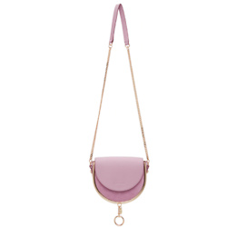 SEE BY CHLOÉ Purple Mara Evening Bag
