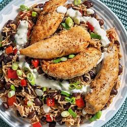 Cajun-Spiced Chicken & Rice