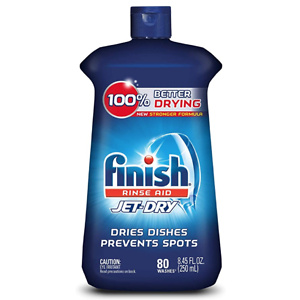 Finish Jet-Dry Rinse Aid, Dishwasher Rinse Agent & Drying Agent, 8.45 Fl Oz