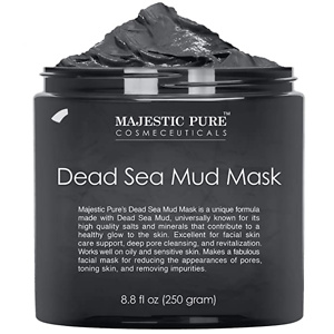 MAJESTIC PURE Dead Sea Mud Mask  - 8.8 fl. Oz