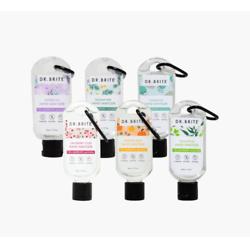 6 PACK - 1.7oz Variety Sanitizer Keychain