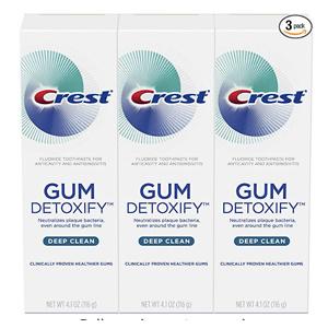 Crest 深层清洁牙龈保护牙膏 3支装