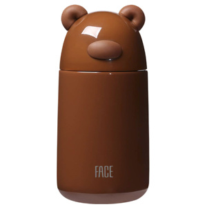 FACE Cute Water Bottles for Kids Guinea Pig Animal Shaped Vacuum Insulated Metal Bottle BPA Free 300ML/10OZ