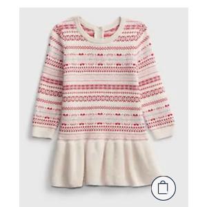 GAP Baby Fair Isle Pattern Dress