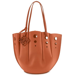 LOEWE Perforated Shell tote bag