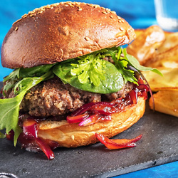 Homestyle BBQ Beef Burgers