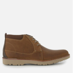Clarks Men's Vargo Mid Leather Chukka Boots