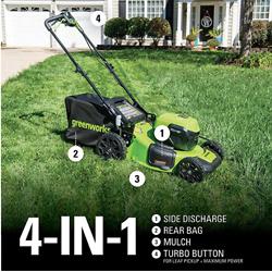 Greenworks 2 x 24V (48V) 21 inch Brushless Self-Propelled Mower