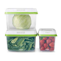 Rubbermaid 2114737 FreshWorks Produce Saver