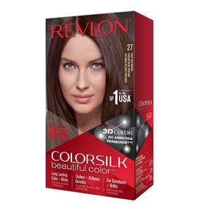 REVLON Colorsilk Beautiful Color Permanent Hair Color with 3D Gel Technology & Keratin