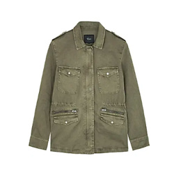 Miller army green cotton jacket