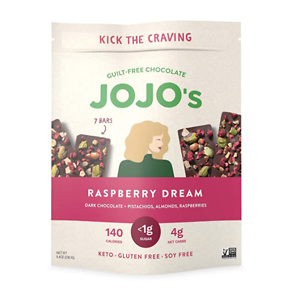 JOJO's Dark Chocolate Bars Made with Hemp