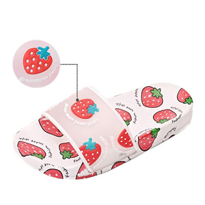 Finleoo:Kids Slide Sandals, Boys Girls Water Shoes Cute Slippers for Beach Pool