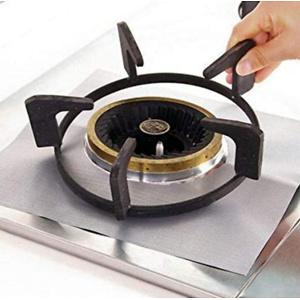 Gas Range Protectors - 6-Pack Gas Stove Burner Protector Liner Cover Clean Mat Pad