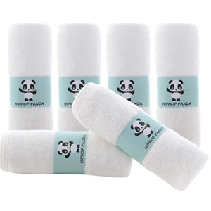 Bamboo Baby Washcloths - 2 Layer Soft Absorbent Bamboo Towel