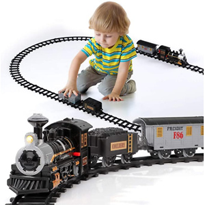 Lucky Doug Electric Train Set for Kids
