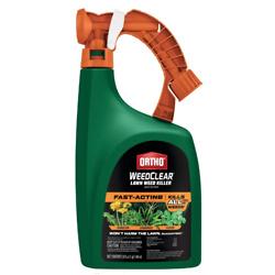 Ortho  除杂草喷雾,可用于草坪,32 oz