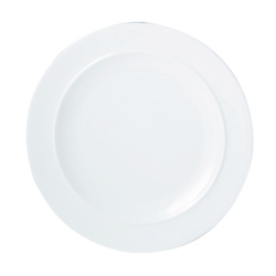 White By Denby Dinner Plate