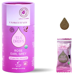 Unsweetened Rose Earl Grey Tea