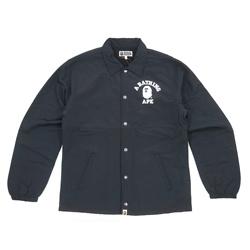 BAPE 学院风徽标夹克