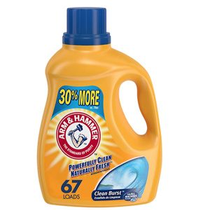 Arm & Hammer Clean Burst Liquid Laundry Detergent, 67 Loads