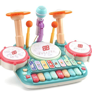 Besandy 5 in 1 Musical Instruments Toys