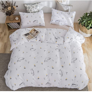 jieshiling Cat Queen Duvet Cover