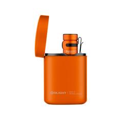 橙色高级版便携式无线充电器