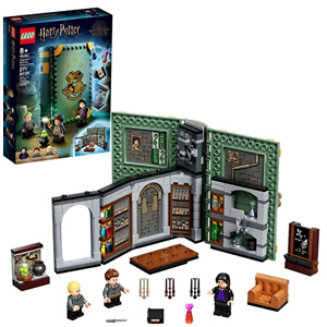 LEGO Harry Potter Hogwarts Moment: Potions Class 76383 Brick-Built Playset with Professor Snape's Potions Class, New 2021 (270 Pieces)