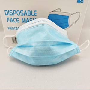 HY General Use Disposable Face Mask (3 Ply), Pack of 100