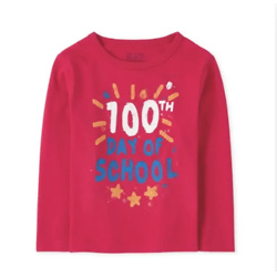 Baby And Toddler Boys 100 Days Of School Graphic Tee