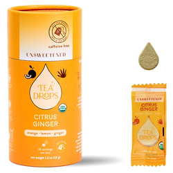 Unsweetened Citrus Ginger Tea