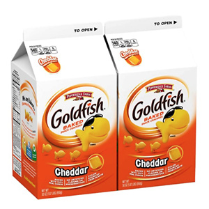 Pepperidge Farm Goldfish Cheddar Crackers, 30 oz. Cartons(Pack of 2)