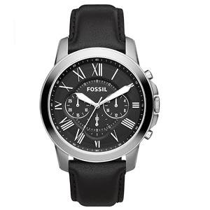 Fossil Men's Grant Stainless Steel Quartz Chronograph Watch