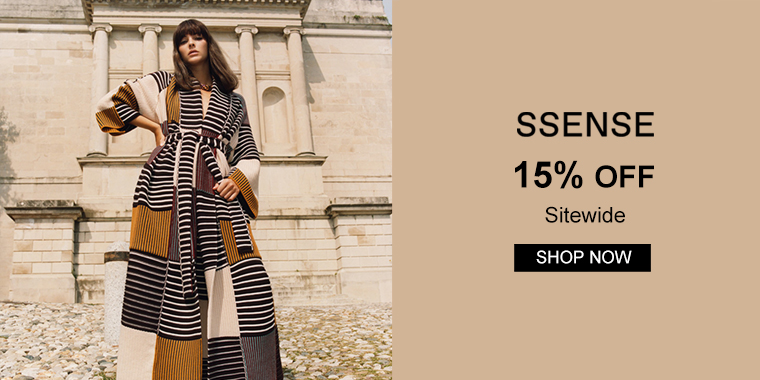 SSENSE:15% OFF Sitewide