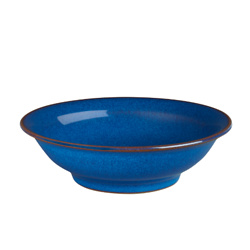 Imperial Blue Small Shallow Bowl