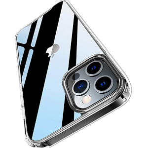 PILIPAPA Crystal Clear Case Compatible with iPhone 12 Pro Max Case