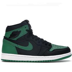 Jordan 复古绿色运动鞋