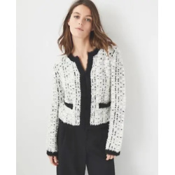 Petite Tweedy Sweater Jacket