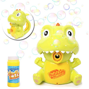 Danvren Dinosaur Bubble Machine