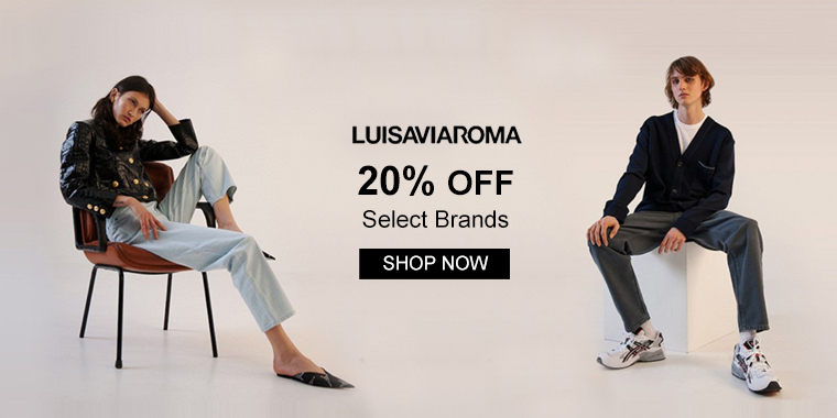 Luisaviaroma: 20% OFF Select Brands