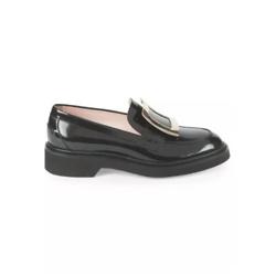 Roger Vivier Viv Rangers Patent Leather Loafers