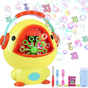 iYoYo Bubble Machine Duck Bubble Blower with Music Sounds