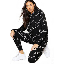 Woman All Over Print Tracksuit