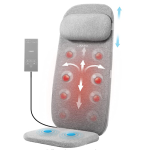 Naipo Shiatsu Massage Cushion with Heat and Vibration