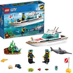 LEGO 乐高 City城市系列 60221 阳光潜水游艇