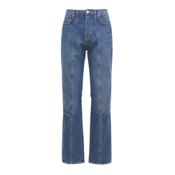 Kenzo Cotton Denim Apron Jeans