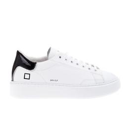D.A.T.E.  黑尾撞色小白鞋