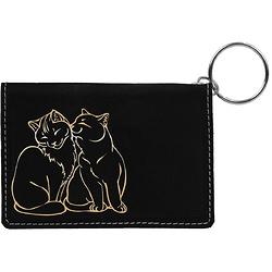 Love猫猫钥匙扣小钱包